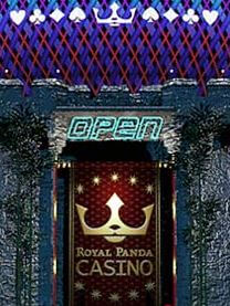 Royal Panda open door